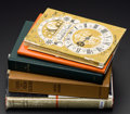 Timepieces:Other , A Lot Of Five Timepiece Books. ... (Total: 5 Items)