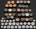 Timepieces:Other , Watch Dials & Factory Movement Tins. ... (Total: 57 Items)