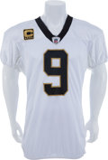 Football Collectibles:Uniforms, 2011 Drew Brees Game Worn New Orleans Saints Jersey....