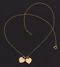 Estate Jewelry:Pendants and Lockets, Gold Necklace, Tiffany & Co.. ...