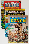 Magazines:Miscellaneous, Miscellaneous British Marvel Magazines Short Box Group (Marvel UK,1970s-80s) Condition: Average FN....