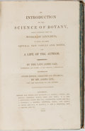 Books:Science & Technology, [Linnaean Taxonomy]. James Lee. An Introduction to the Science of Botany. London: Privately printed by S. Hamilton, ...