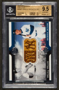 Baseball Cards:Singles (1970-Now), 2005 Upper Deck Employee Dual Bats - Jeter and Mantle #MMDJ BGS GemMint 9.5. ...