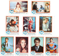Memorabilia:Trading Cards, Superman The Movie Trading Card Series 1 and 2 Group (TMs/DCComics Inc., 1978)....