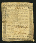 Colonial Notes:Delaware, Delaware January 1, 1776 2s 6d Very Good.. ...
