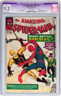 Silver Age (1956-1969):Superhero, The Amazing Spider-Man #16 (Marvel, 1964) CGC Apparent NM- 9.2 Slight (P) Off-white pages....