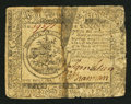 Colonial Notes:Continental Congress Issues, Continental Currency July 22, 1776 $5 Very Good.. ...