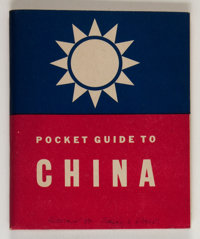 Pocket Guide to China #nn (U. S. Army, 1942) Condition: FN/VF