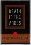 Books:Signed Editions, Mario Vargas Llosa. SIGNED/FIRST. Death In The Andes. New York: Farrar, Straus and Giroux, 1996. Signed on title p...