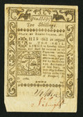 Colonial Notes:Rhode Island, Rhode Island May 1786 10s Extremely Fine.. ...