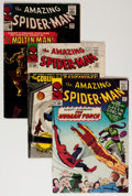 Silver Age (1956-1969):Superhero, The Amazing Spider-Man Group (Marvel, 1964-87) Condition: Average VG.... (Total: 39 Comic Books)