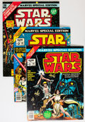 Bronze Age (1970-1979):Miscellaneous, Marvel Special Edition Star Wars #1-3 Group (Marvel, 1977-78)Condition: Average NM.... (Total: 3 Comic Books)
