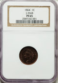 Patterns: , 1864 1C One Cent, Judd-356, Pollock-426, Low R.6, PR65 NGC. NGCCensus: (0/1). PCGS Population (4/0). ...