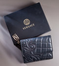 Other:Contemporary, A Versace Vanitas Collection Wallet for you and a Versace PrivateShopping Experience for you & 5 Friends!. 4-1/4 x 5 inches...