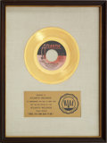"Music Memorabilia:Awards, Aretha Franklin ""Until You Come Back To Me (That's What I'm GonnaDo)"" RIAA Gold Record Award (1973)...."