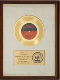 "Music Memorabilia:Awards, The Rascals ""People Got To Be Free"" RIAA Gold Record Award(1968)...."