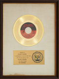 "Music Memorabilia:Awards, Aretha Franklin ""Day Dreaming"" RIAA Gold Record Award (1972). ..."