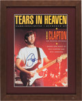 "Music Memorabilia:Autographs and Signed Items, Eric Clapton Signed ""Tears in Heaven"" Sheet Music (1992). ..."