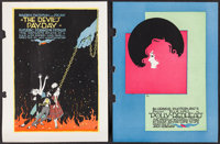 """Moving Picture World (Chalmers Publishing, 1914-1917). Hand Bound Books (2) (Multiple Pages, 9.5"""" X 12"""") &..."""