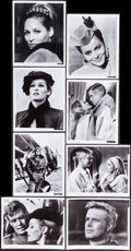 Movie Posters:War, The Blue Max (20th Century Fox, 1966). Color Photo Set of 8, Deluxe Color Photo, Black and White Portrait and Scene Photos (... (Total: 22 Items)