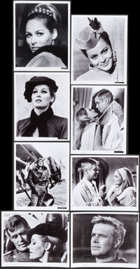 The Blue Max (20th Century Fox, 1966). Color Photo Set of 8, Deluxe Color Photo, Black and White Portrait and Scene Phot...