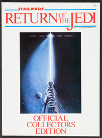 """Return of the Jedi & Other Lot (Lucasfilm, 1983). Official Collector's Edition Magazine (66 Pages, 8"""" X 11)..."""