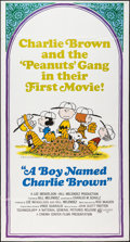 """Movie Posters:Animation, A Boy Named Charlie Brown (National General, 1969). Three Sheet(41"""" X 77""""). Animation.. ..."""