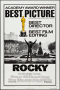 "Movie Posters:Academy Award Winners, Rocky (United Artists, 1977). One Sheet (27"" X 41""). Style BAcademy Awards Style. Academy Award Winners.. ..."