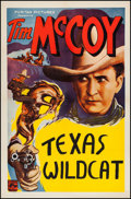 "Movie Posters:Western, Tim McCoy Stock Poster (Puritan, 1935). One Sheet (27"" X 41""). Western.. ..."