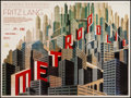 "Movie Posters:Science Fiction, Metropolis (Eureka, R-2010). British Quad (30"" X 40""). ScienceFiction.. ..."