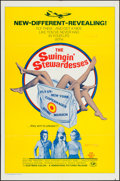 """Movie Posters:Sexploitation, The Swingin' Stewardesses & Others Lot (Hemisphere Pictures,1972). One Sheets (4) (27"""" X 41""""). Sexploitation.. ... (Total: 4Items)"""