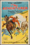 "Movie Posters:Adventure, The Adventurer (MGM, 1928). One Sheet (26.5"" X 39.5""). Adventure....."