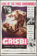 """Movie Posters:Crime, Grisbi (Valiant, 1960). One Sheet (27"""" X 41""""). Crime.. ..."""