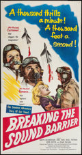 "Movie Posters:Action, Breaking the Sound Barrier (United Artists, 1952). Three Sheet (41"" X 79"") & Lobby Cards (5) (11"" X 14""). Action.. ... (Total: 6 Items)"