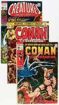 Bronze Age (1970-1979):Adventure, Conan the Barbarian Group (Marvel, 1971-73) Condition: Average VF-.... (Total: 14 Comic Books)