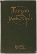 Books:Science Fiction & Fantasy, Edgar Rice Burroughs. Tarzan and the Jewels of Opar. A. C. McClurg & Company, 1918. First edition. Illustrations...
