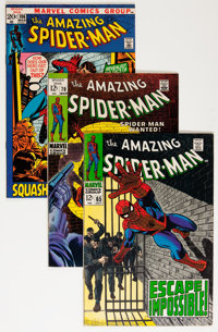 The Amazing Spider-Man Group (Marvel, 1968-92) Condition: Average VF.... (Total: 9 Comic Books)