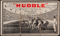 Football Collectibles:Others, Red Badgro, Red Matal and Joe Ferrera Multi Signed Football Game Image....