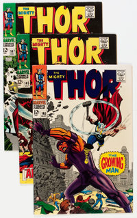 Thor Group (Marvel, 1967-68) Condition: Average VF.... (Total: 7 Comic Books)