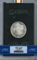 GSA Dollars: , 1880-CC $1 GSA HOARD MS62 NGC. NGC Census: (509/4097). ...