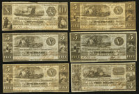Barry, MI- The Farmers Bank of Sandstone $1 (5); $2 (2); $3; $5 (4); $10 Jan. 1838 G2 (5); G4 (2); G6; G8 (4); G10 Le