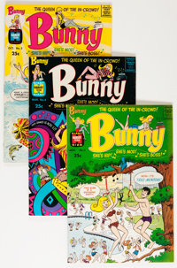 Bunny #3-21 Plus File Copy Group (Harvey, 1966-76) Condition: Average NM-.... (Total: 60 Comic Books)