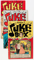 Golden Age (1938-1955):Non-Fiction, Juke Box Comics Group (Famous Funnies, 1948-49) Condition: AverageFN.... (Total: 7 Comic Books)