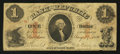 Obsoletes By State:Rhode Island, Providence, RI - Bank of the Republic $1 Aug. 17, 1855. ...