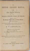 Books:Sporting Books, T. C. Hofland. British Anger's Manual, or, the Art of Angling inEngland, Scotland, Wales, and Ireland. H. G. Bo...