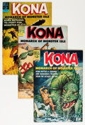 Silver Age (1956-1969):Adventure, Kona File Copy Group (Dell, 1963-66) Condition: Average VF+.... (Total: 9 Comic Books)
