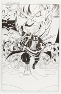 Original Comic Art:Covers, Ethan Van Sciver Blade: The Animated Series UnpublishedCover Original Art (Marvel, undated)....