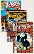 Modern Age (1980-Present):Superhero, DC and Marvel Modern Age Comics Box Lot (DC/Marvel, 1980s-'90s)....