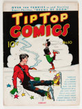 Golden Age (1938-1955):Miscellaneous, Tip Top Comics #10 (United Features Syndicate/Standard, 1937) Condition: VG+....