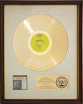 Music Memorabilia:Awards, The Dave Clark Five's Greatest Hits RIAA Gold RecordAward (1966). ...